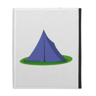 Camping Tent iPad Folio Cover
