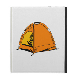 Camping Tent iPad Folio Cases