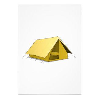Camping Tent Custom Invites