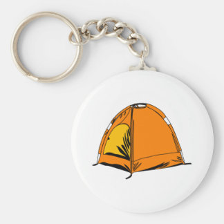Camping Tent Key Chains