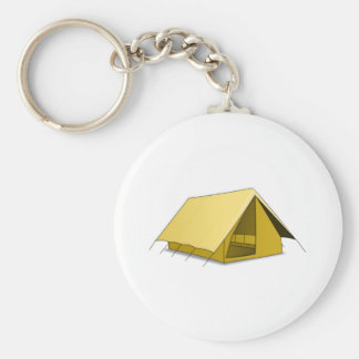 Camping Tent Keychain