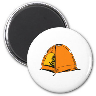 Camping Tent Magnet