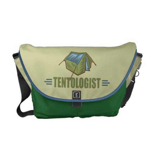Camping, Tent Messenger Bag