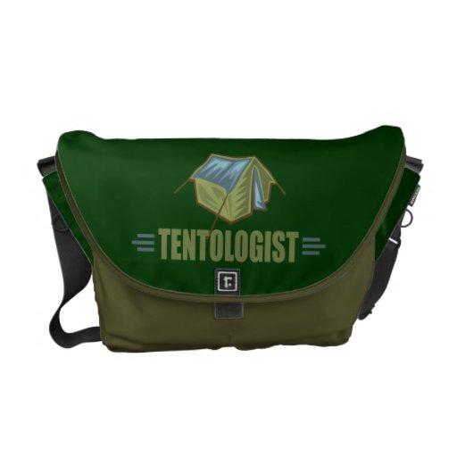 Camping, Tent Messenger Bags