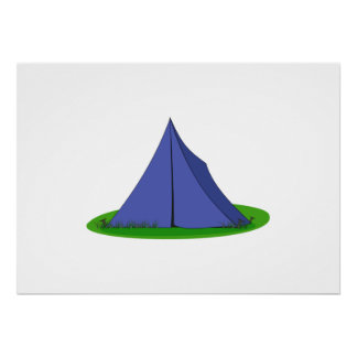Camping Tent Posters