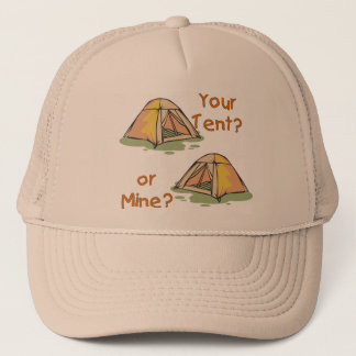 Camping Tents Trucker Hat