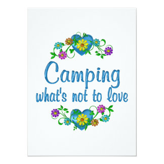 Camping to Love Announcement