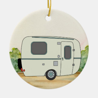 Camping Trailer Christmas Ornament