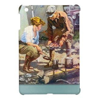 Camping trip iPad mini cases