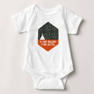 Camping under the stars baby bodysuit