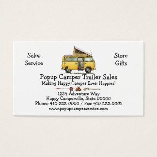 Campmobile Camper Van Business Card