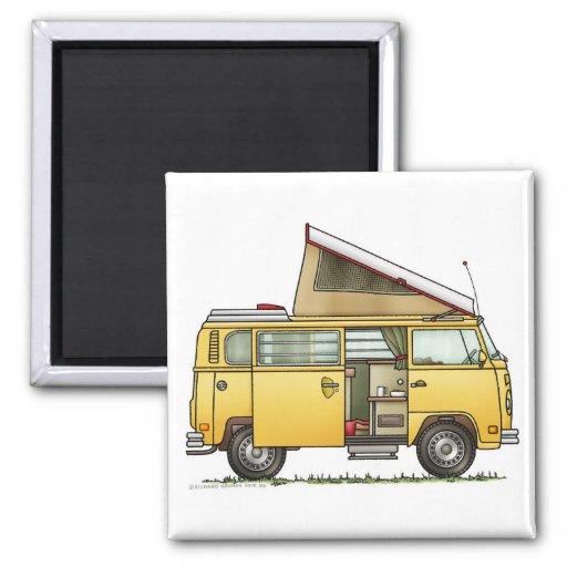 Campmobile Camper Van Magnet Refrigerator Magnet