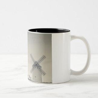 Campo de Criptana, antique La Mancha windmills 2 Two-Tone Coffee Mug