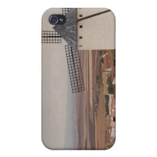 Campo de Criptana, antique La Mancha windmills 4 Cover For iPhone 4