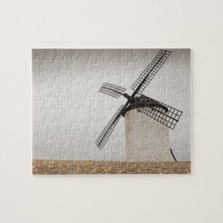 Campo de Criptana, antique La Mancha windmills Jigsaw Puzzle