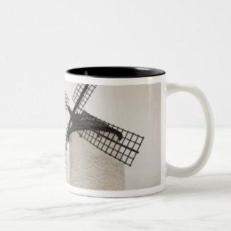 Campo de Criptana, antique La Mancha windmills Two-Tone Coffee Mug