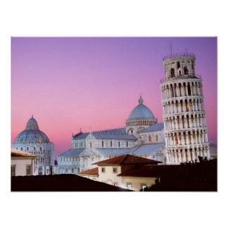 Campo dei Miracoli Pisa Italia Poster