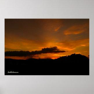 Campobasso, un tramonto! poster