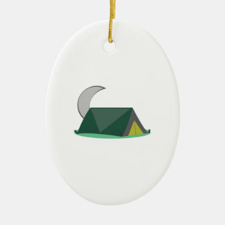 Campping Tent Christmas Ornament