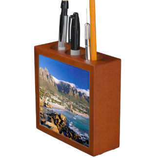 Camps Bay Beach And The Twelve Apostles Range Desk Organiser