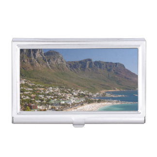Camps Bay Beach And Twelve Apostles Business Card Holder