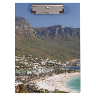 Camps Bay Beach And Twelve Apostles Clipboard