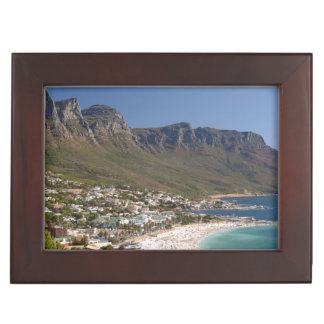 Camps Bay Beach And Twelve Apostles Keepsake Box