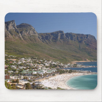 Camps Bay Beach And Twelve Apostles Mouse Pad