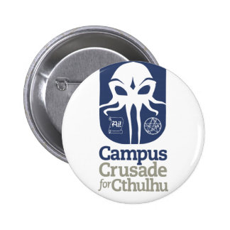 Campus Crusade for Cthulhu 6 Cm Round Badge