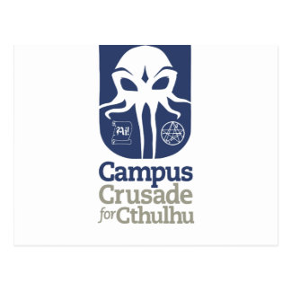 Campus Crusade for Cthulhu Postcard