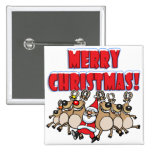 CAN CAN Merry Christmas! Badges