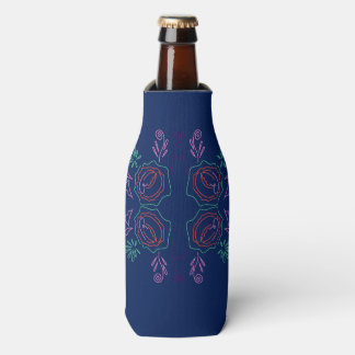 Can cooler Blue ethno Folk