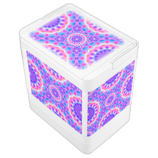 Can Cooler Mandala Psychedelic Visions Igloo Cooler