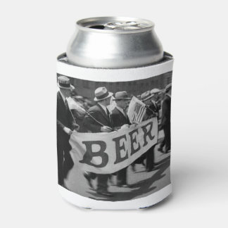 Can cooler with custom historic image