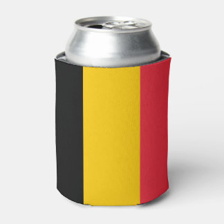 Can Cooler with flag of Belgium