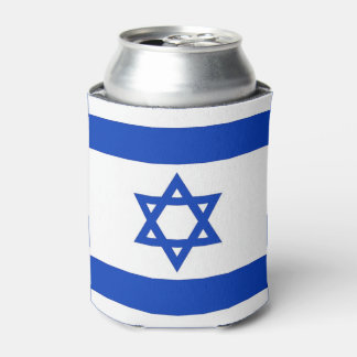 Can Cooler with flag of Israel