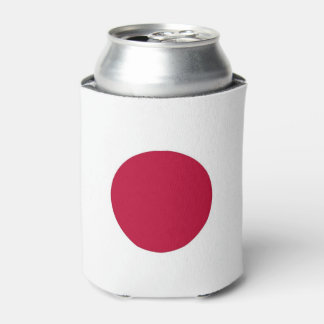 Can Cooler with flag of Japan