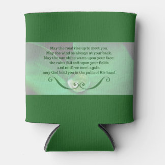 Can Cooler with Irish Blessing