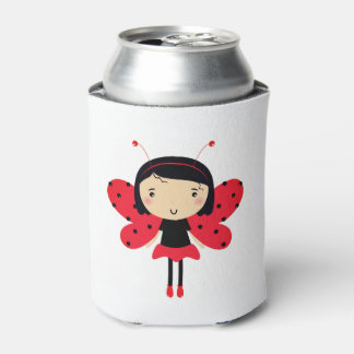 Can cooler with Lady bee