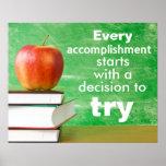 Can-Do Attitude Classroom Poster
