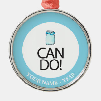Can Do Christmas Ornament