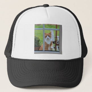 Can I Come In Pumpkin. Trucker Hat