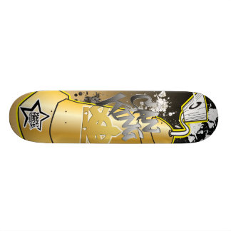 Can King Graffiti Skateboard