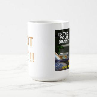 Can Man Cleanup Basic White Mug