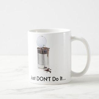 Can of worms coffee mug