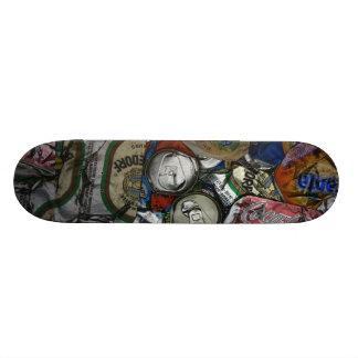Can recycling custom skateboard