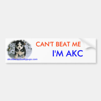 Can t Beat Me Bumper Stickers