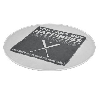 Can t Buy Happiness Baseball Cutting Boards