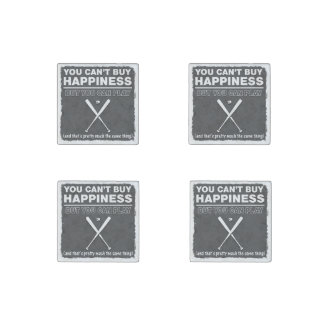 Can t Buy Happiness Baseball Stone Magnet