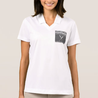 Can t Buy Happiness Baseball Polo Shirt